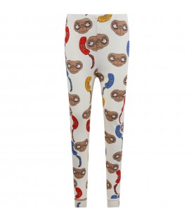Ivory leggings for kids with E.T.