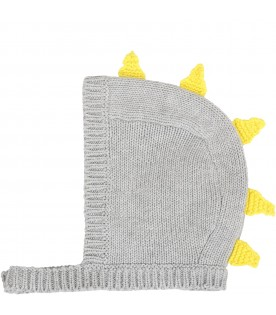 Grey suit for babykids with scales