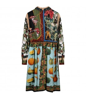 Multicolor dress for girl