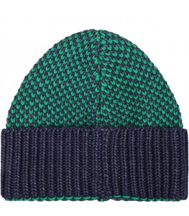 Green hat for kids