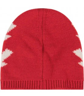 Red hat for kids with thunders