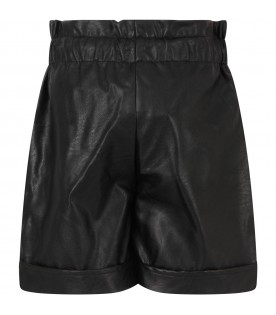 Black short for girl
