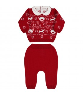 Red suit for babykids