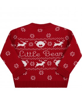 Red sweater for babykids