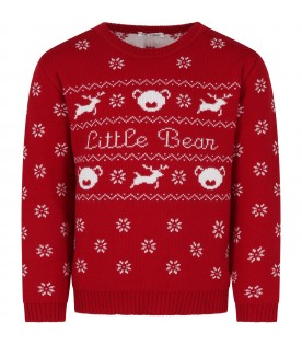 Red sweater for kids