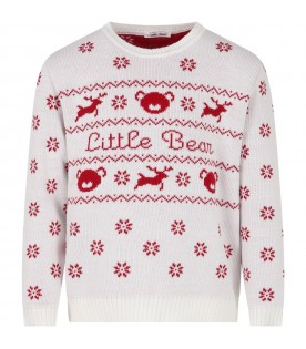 White sweater for kids