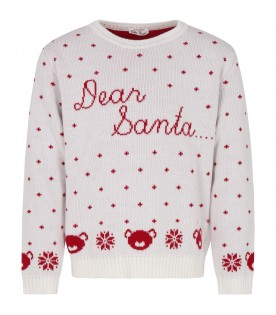 White sweter for kids