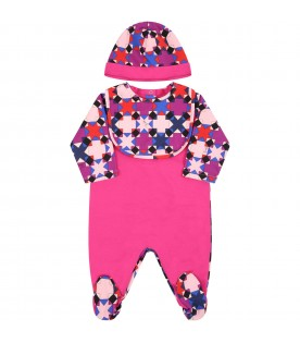 Multicolor suit for babygirl