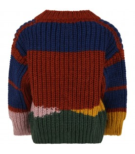 Multicolor cardigan for kids