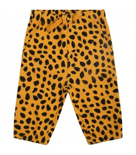Orange sweatpants for babykids
