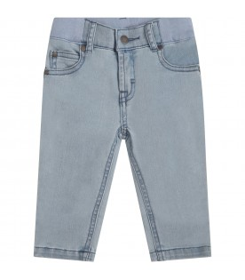 Light blue jeans for babykids