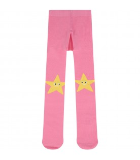 Pink tights for babygirl