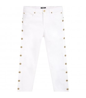 White jeans for kids
