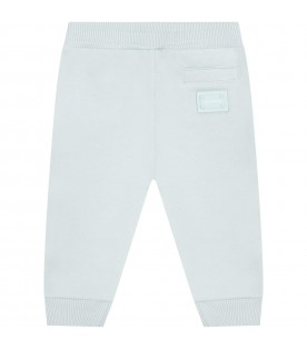 Green sweatpants  for babykids with logo