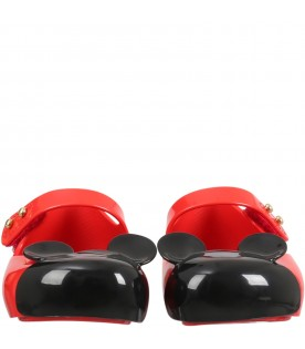 Red flats for girl