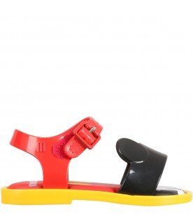 Multicolor sandals for kids