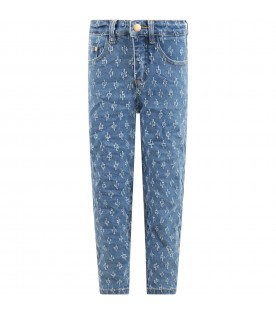 Light blue ''Allis'' jeans for girl