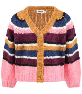 Multicolor ''Gail'' cardigan for girl