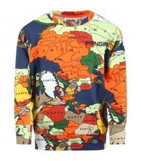 Multicolor ''Mik'' sweatshirt for boy