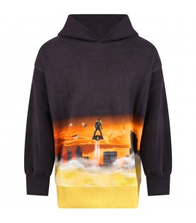 Multicolor ''Mozzy'' sweatshirt for boy