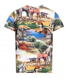 Multicolor ''Ralphie'' T-shirt for boy