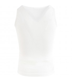 Ivory tank top for girl