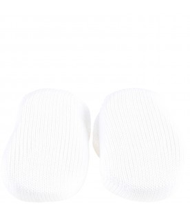 White bootee for babykids