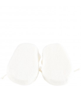 Ivory bootee for babykids