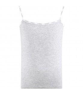 Grey tank top for girl