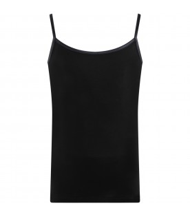 Black tank top for girl