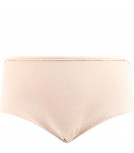 Pink knickers for girl