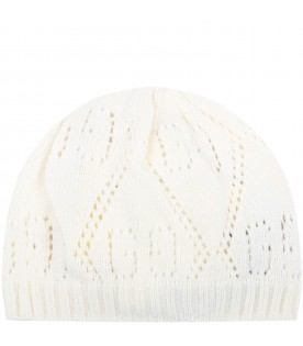 Ivory hat for babykids