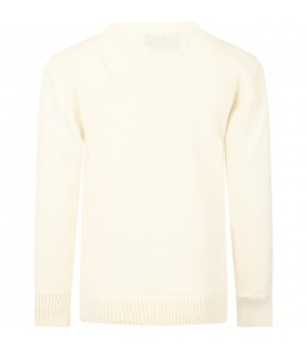 Ivory sweater for kids