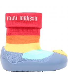 Multicolor socks for kids with