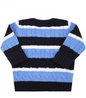 Multicolor sweater for babyboy