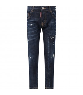 Blue ''Cool Guy'' jeans for boy
