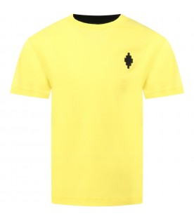 Multicolor t-shirt for boy with cross