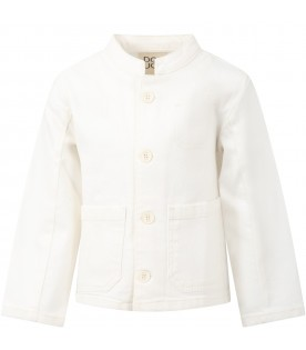 Ivory jacket for kids