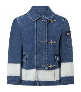 Blue jacket for kids
