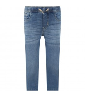 Light blue ''Agustino'' jeans for kids