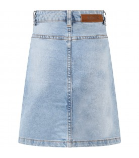Light blue ''Britney'' skirt for girl