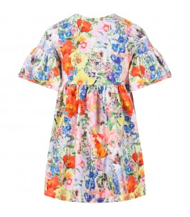 Multicolor ''Chasity'' dress for girl