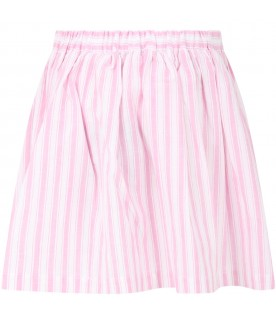 Striped skirt for girl