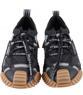 Black sneakers for kids