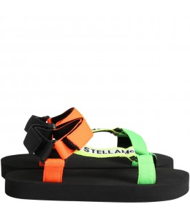 Black sandals for boy