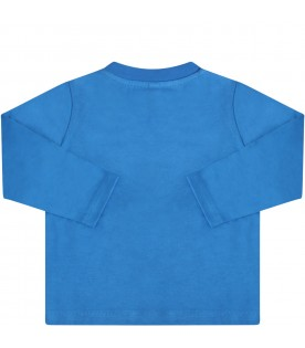 Blue t-shirt for babyboy