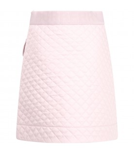 Pink skirt for girl