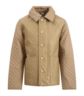 Beige jacket for girl