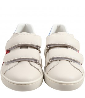 Beige sneakers for kids