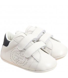 White sneakers for babykids